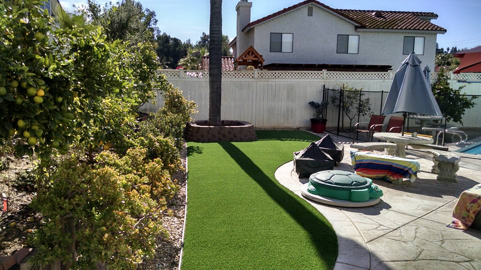 Artificial Grass Lawn El Cajon