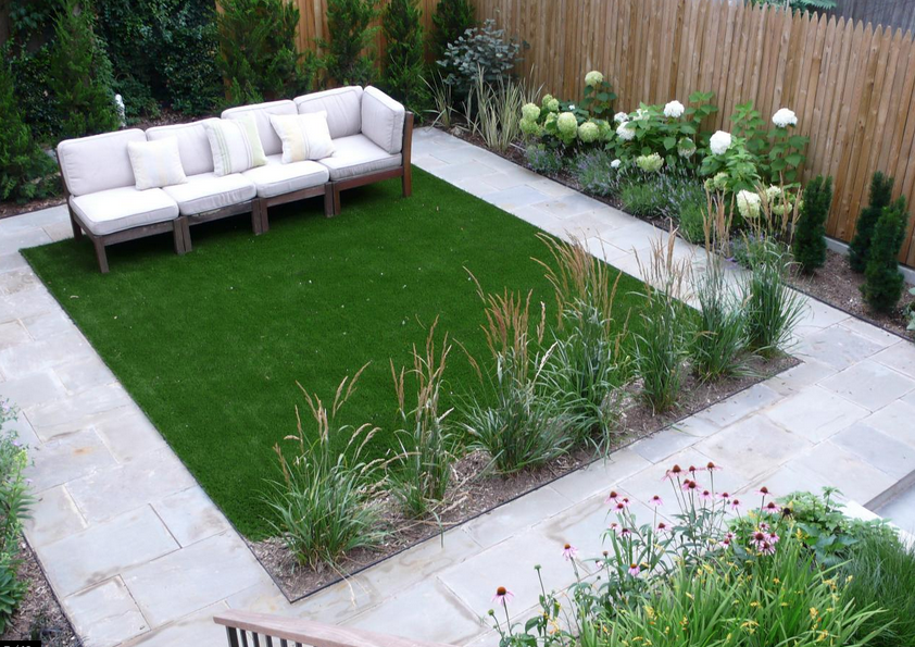 Landscape turf artificial lawn san diego contractor for Small landscape grasses