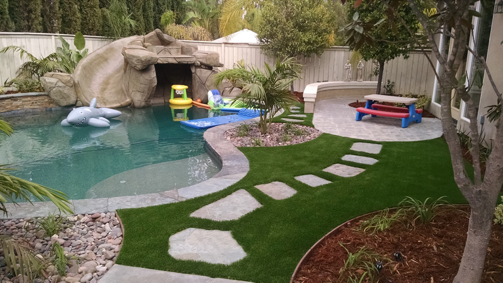 artificial turf Poway landscaping with-artificial-grass