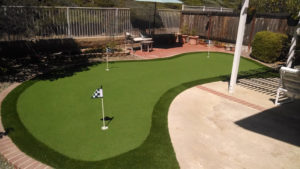 backyard putting green san diego