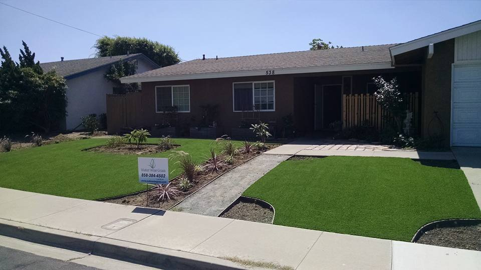 coronado artificial turf installation