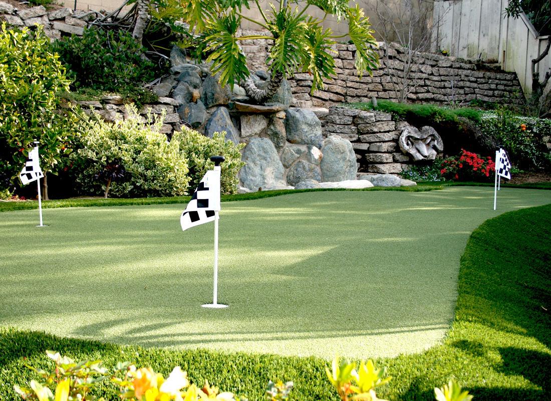 Best Putting Green San Diego Installer| Water Wise Grass