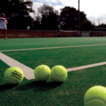 Synthetic Turf Tennis Court